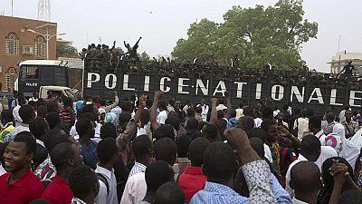 Niger: trois dirigeants de la société civile écroués après la manifestation de dimanche