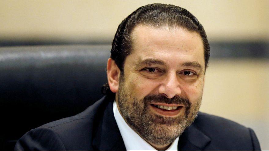 الحريري يعلن استقالته من رئاسة وزراء لبنان ويقول إن حياته في خطر
