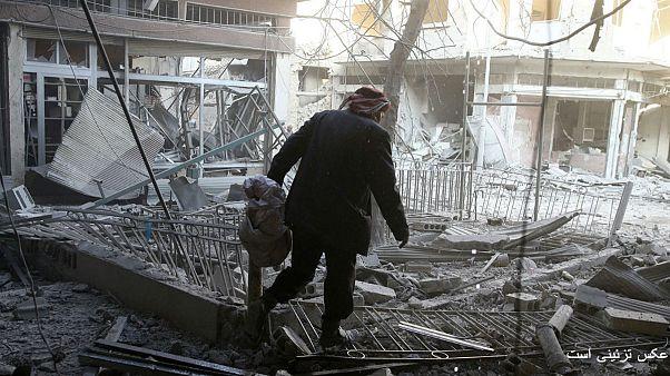 حمله با خمپاره به شرق دمشق