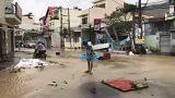 Damrey tayfunu Vietnam'ı vurdu