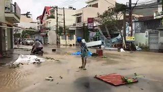 Tájfun pusztít Vietnamban