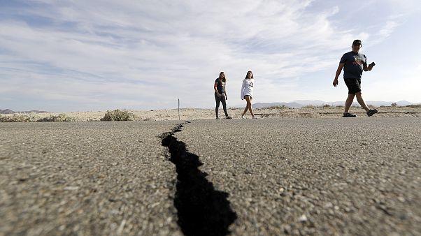 Image: California earthquake