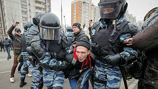 Arresti di nazionalisti a Mosca