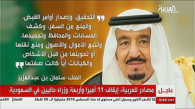 Detenidos 11 príncipes de Arabia Saudí por presunta corrupción