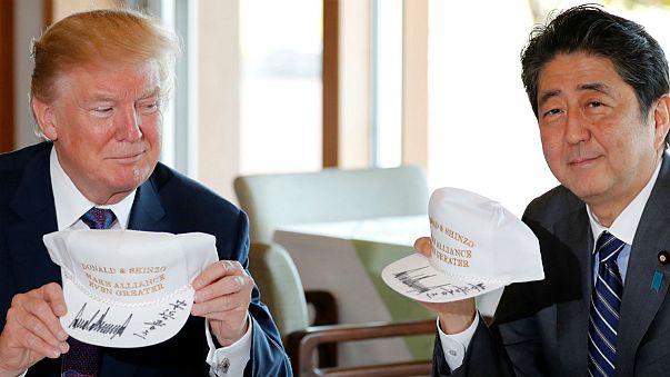 Japánba érkezett az amerikai elnök