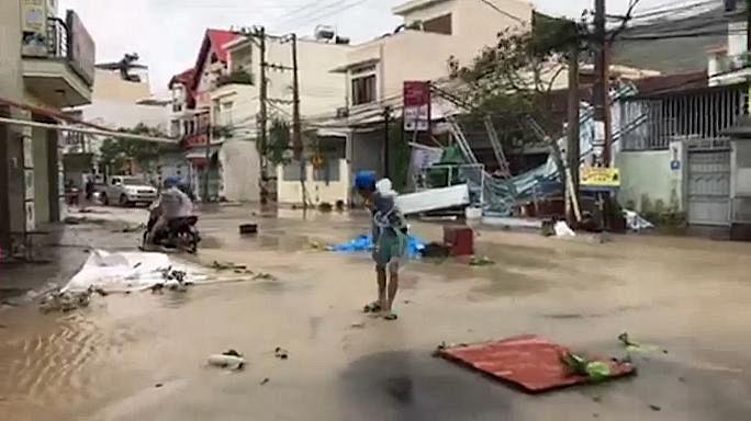 Vietnam: tifone Damrey, 27 morti e decine di dispersi