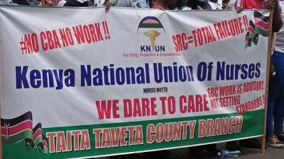 Kenyan nurses end five-month clinic and hospital strike