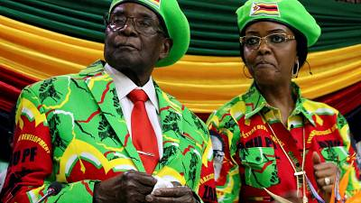 American woman arrested in Zimbabwe for 'goblin' insult against Robert Mugabe