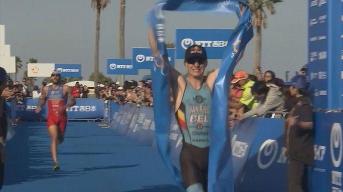 Triathlon World Cup winners crowned
