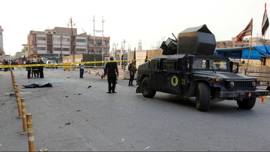 انفجار انتحاری در نزدیکی پایگاه نیروهای شیعه در کرکوک عراق