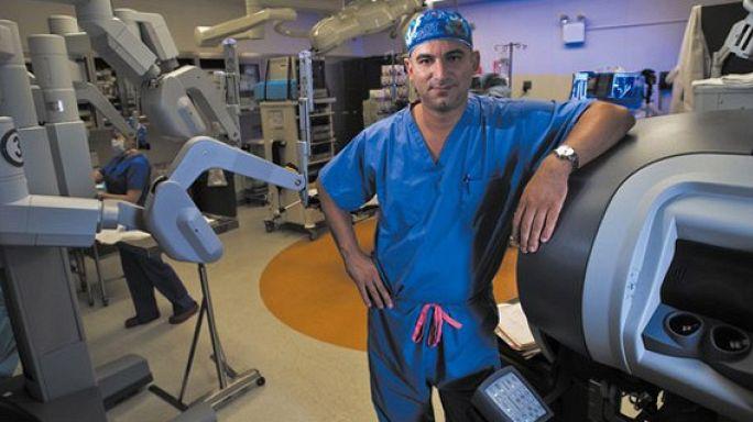 Türkiye robotik cerrahide dünya ikincisi
