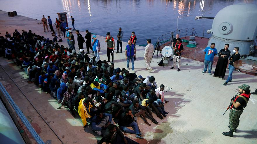 Bodies of 23 migrants recovered from Mediterranean Sea