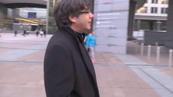 Карлес Пучдемон сдался бельгийской полиции