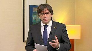 رئیس معزول دولت کاتالونیا خود را به پلیس بلژیک معرفی کرد