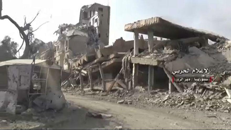 Romokban a legnagyobb kelet-szíriai város