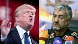 قائد الحرس الثوري الإيراني يرفض اتهام ترامب بشأن صاروخ السعودية