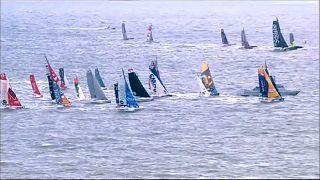 """سباق """"ترانزات جاك فابر"""" للقوارب الشراعية ينطلق بدون الفريق العماني"""