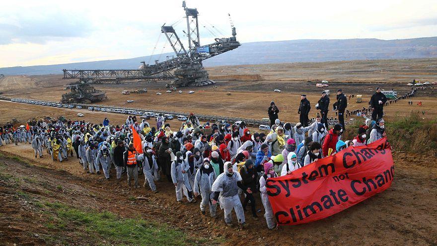 COP23: Umweltaktivisten fordern schnellen deutschen Kohleausstieg