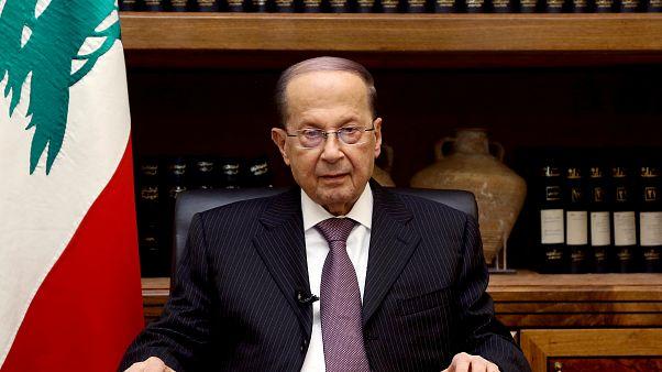 رئیس جمهوری لبنان تصمیمگیری دربارۀ استعفای حریری را منوط به بازگشت او کرد
