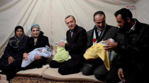 وفاة الأشقاء رجب وطيب وإردوغان بانفجار قنبلة في سوريا