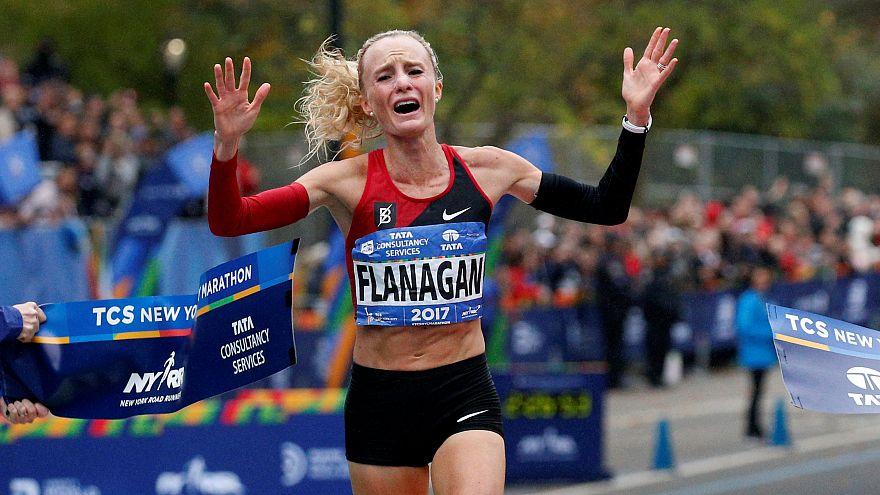 Флэнаган и Камворор – победители марафона в Нью-Йорке