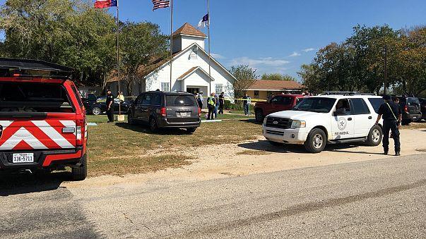 Gunman 'killed himself' after Texas church massacre