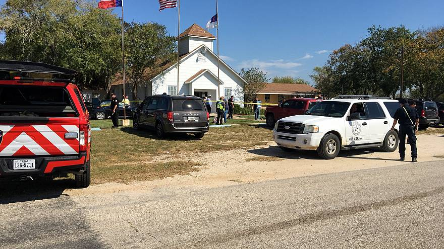 Gunman 'killed himself' after Texas church massacre
