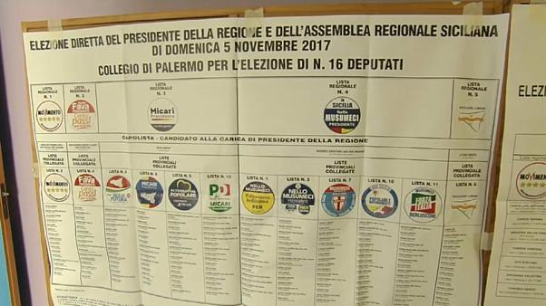 Sicilia: in testa il centrodestra, M5s secondo