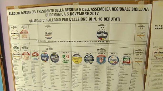 На Сицилии побеждают правоцентристы