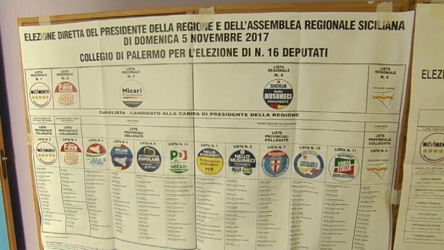 El centroderecha se impone en las regionales de Sicilia