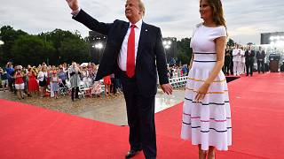 Image: Donald Trump Salute to America