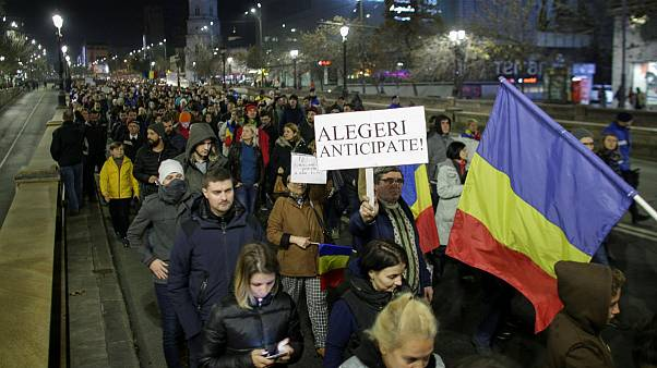 Thousands protest in Romania over 'attack on judicial independence'