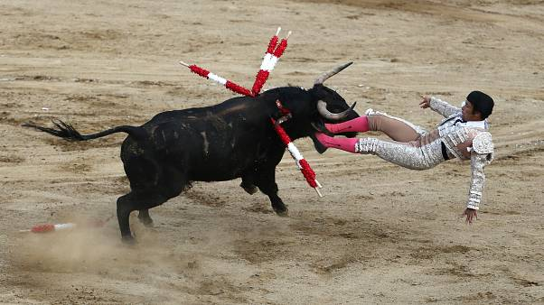 A bikaviadalok ellen tiltakoztak Peruban
