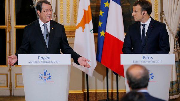 Μακρόν: Θα στηρίξουμε τις προσπάθειες για επίλυση του Κυπριακού