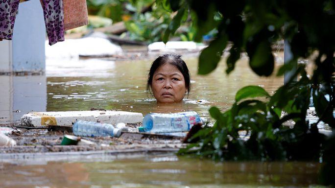 Il tifone Damrey in Vietnam, morte e distruzione