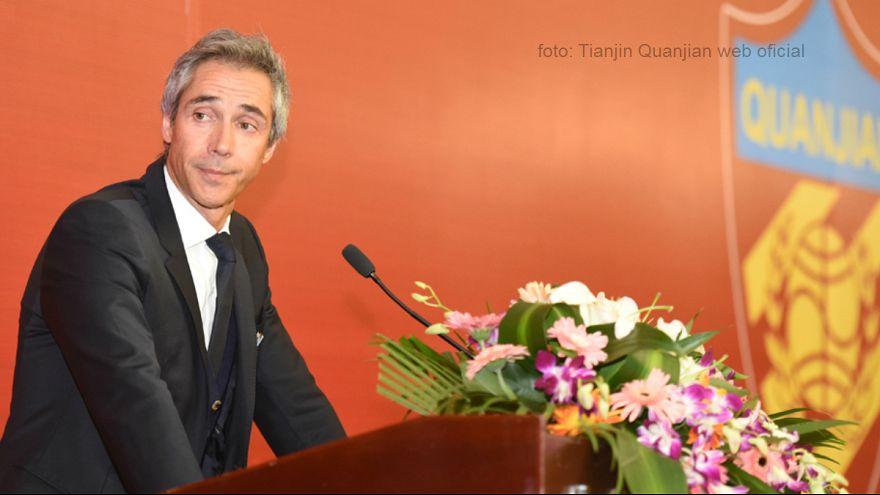 Paulo Sousa confirmado como treinador do Tianjin Quanjian