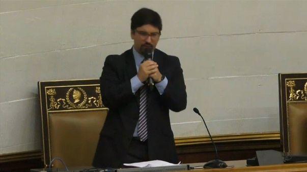 El opositor venezolano Freddy Guevara, refugiado en la embajada chilena