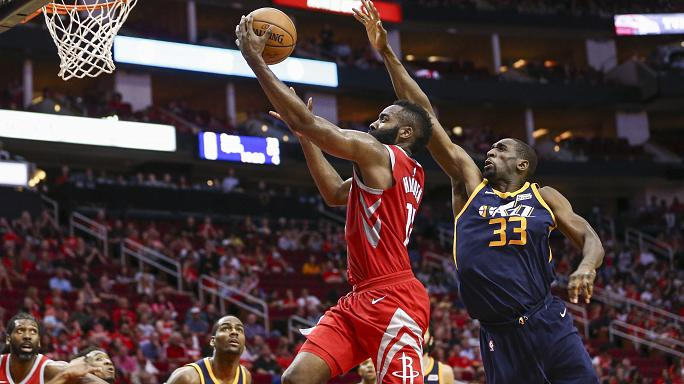 NBA's James Harden scores career-high 56 points