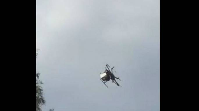 Drone loses control injuring six in Japan