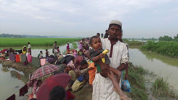 Bangladeş'e kaçan Myanmarlı Müslümanların hüzünlü hikayesi