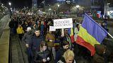 Más de 30.000 rumanos protestan contra un proyecto de ley judicial