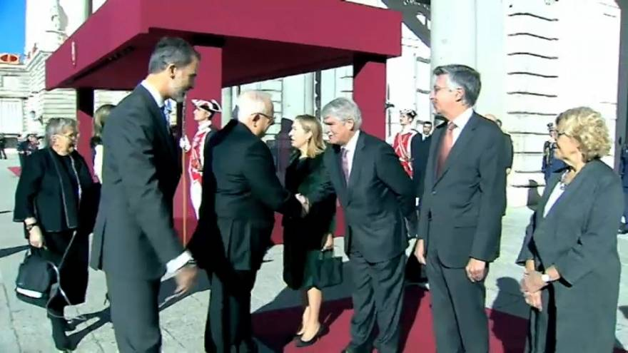 El presidente israelí Rivlin visita España con polémica sobre Cataluña