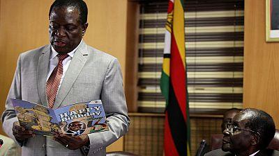 Zimbabwe's Mugabe sacks vice president Mnangagwa for 'disloyalty'