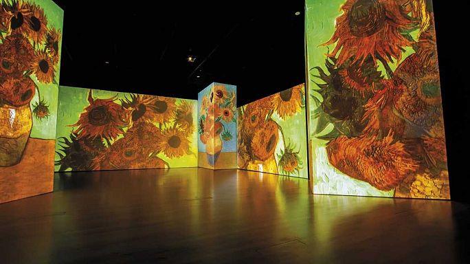 Van Gogh Dijital Sanat Sergisi'nin yeni adresi Atina