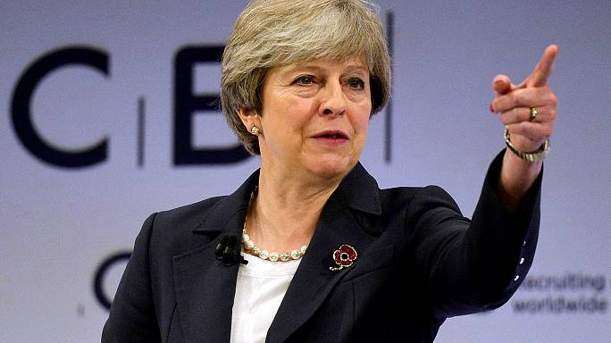 Look forward to Brexit with optimism (and realism), May tells business reps