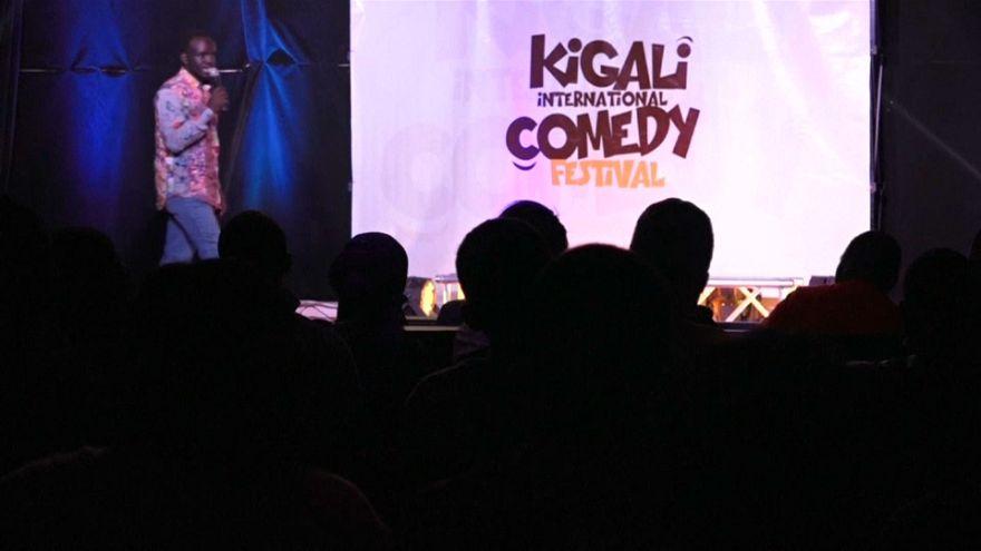 Un festival du rire au Rwanda