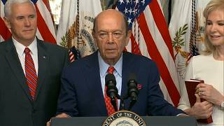 US Commerce Secretary Wilbur Ross denies wrongdoing after Paradise Papers leak.