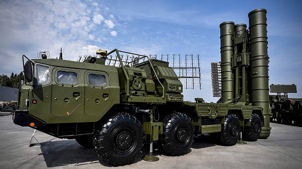 Image: Russian S-400 anti-aircraft missile launching system on display in K