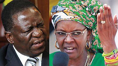 Grace Mugabe's final showdown cost Zimbabwe's vice president his job