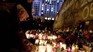 Polen erinnern an den Mann (54†), der sich aus Protest selbst verbrannte